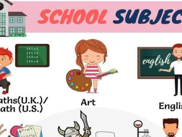 Learn English Vocabulary for School Subjects 16