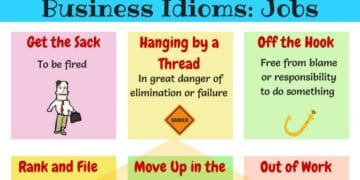 Learn Useful English Idioms about Job 6