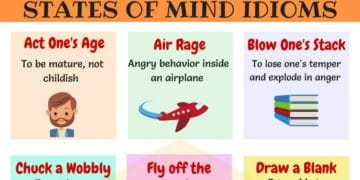 Commonly Used Idioms to Express Feelings and Emotions in English 5