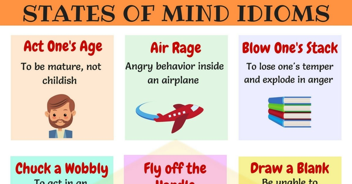Commonly Used Idioms to Express Feelings and Emotions in English 28