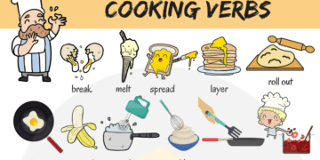 Learn Cooking Verbs in English 4