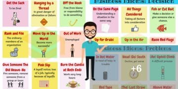 Commonly Used Business English Idioms You Should Know 4