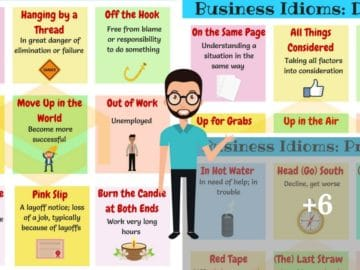Commonly Used Business English Idioms You Should Know 25