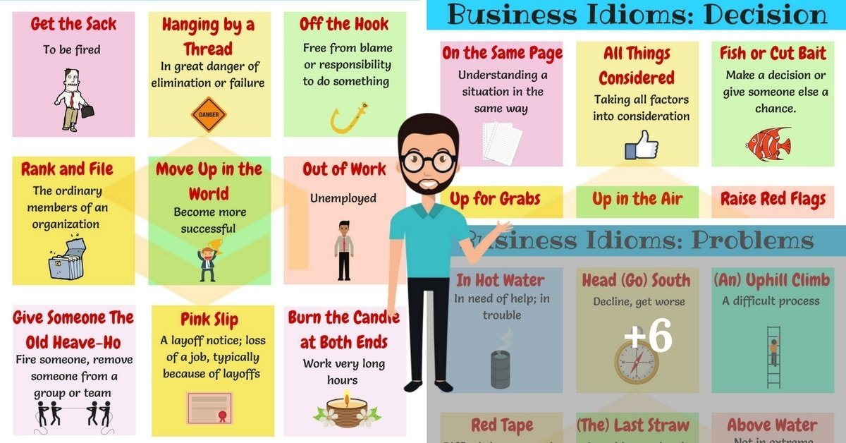 Commonly Used Business English Idioms You Should Know 7