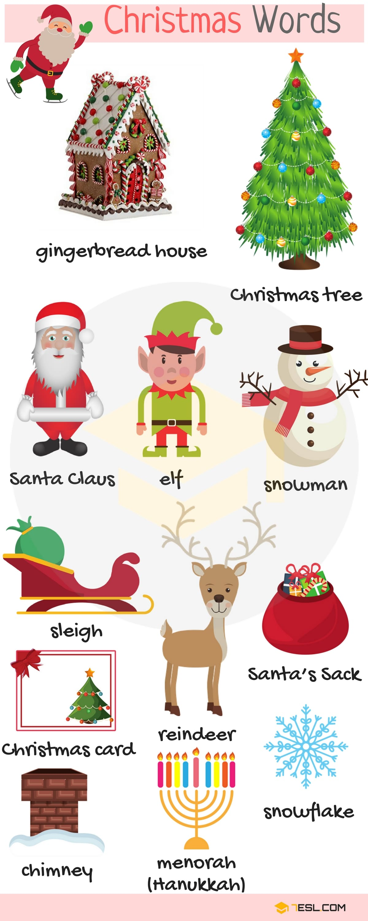Holidays Vocabulary in English 4