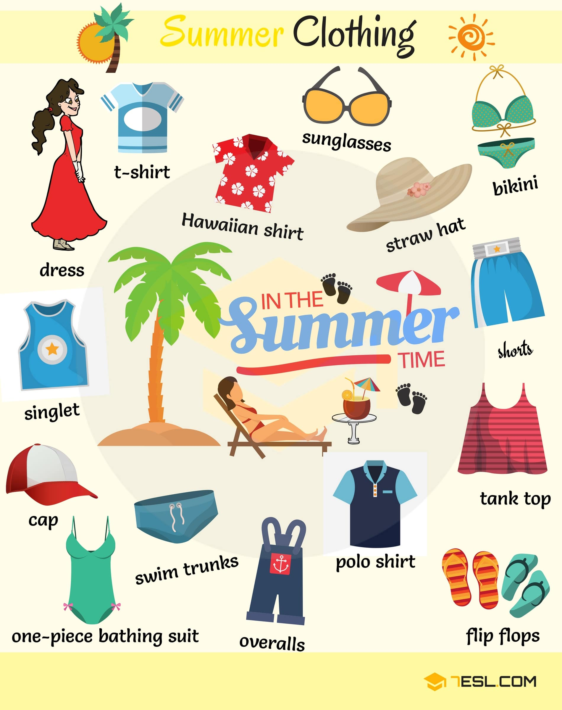 Types of Clothing: Learn Clothes and Accessories Vocabulary in English 5