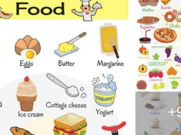 "Learn Food Vocabulary in English – ""Food & Drinks"" Vocabulary 34"