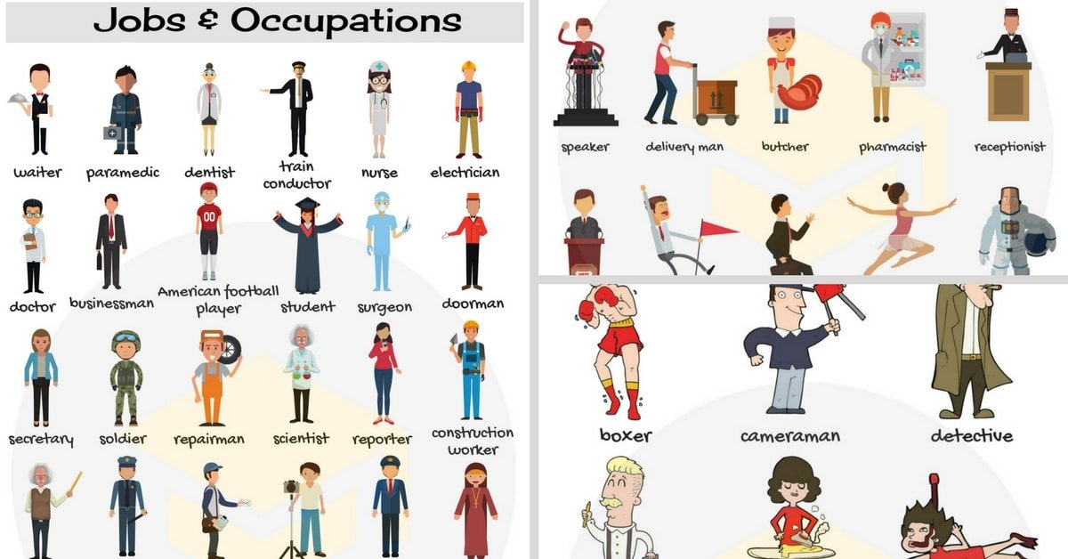 Learn Jobs and Occupations Vocabulary through Pictures 8
