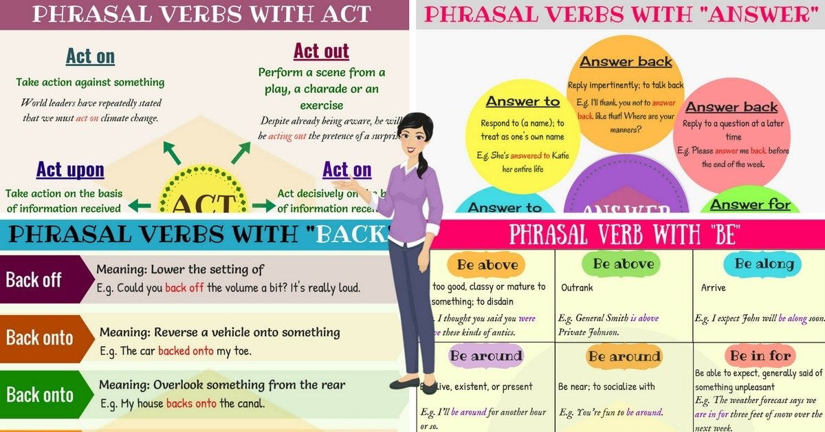 Most Common Phrasal Verbs in English 8