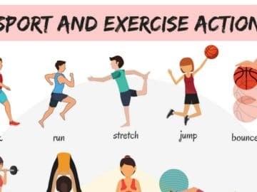 Learn Sport and Exercise Verbs in English 17