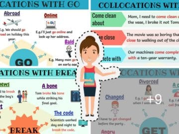 Common Verb Collocations in English You Should Know 12