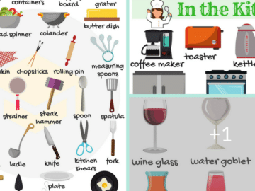 In the Kitchen Vocabulary in English 26