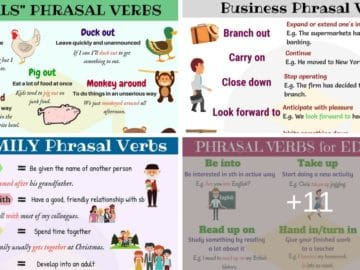 Easy Ways to Learn Phrasal Verbs in English 15