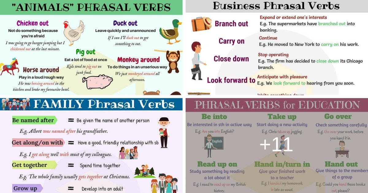 Easy Ways to Learn Phrasal Verbs in English 17