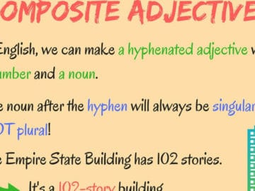 English Grammar: Composite Adjectives 15