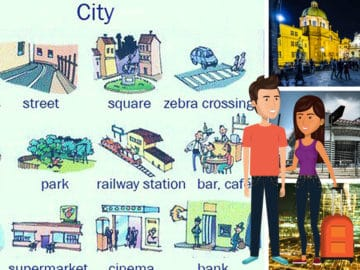 Learn English Vocabulary: Places in the City 14