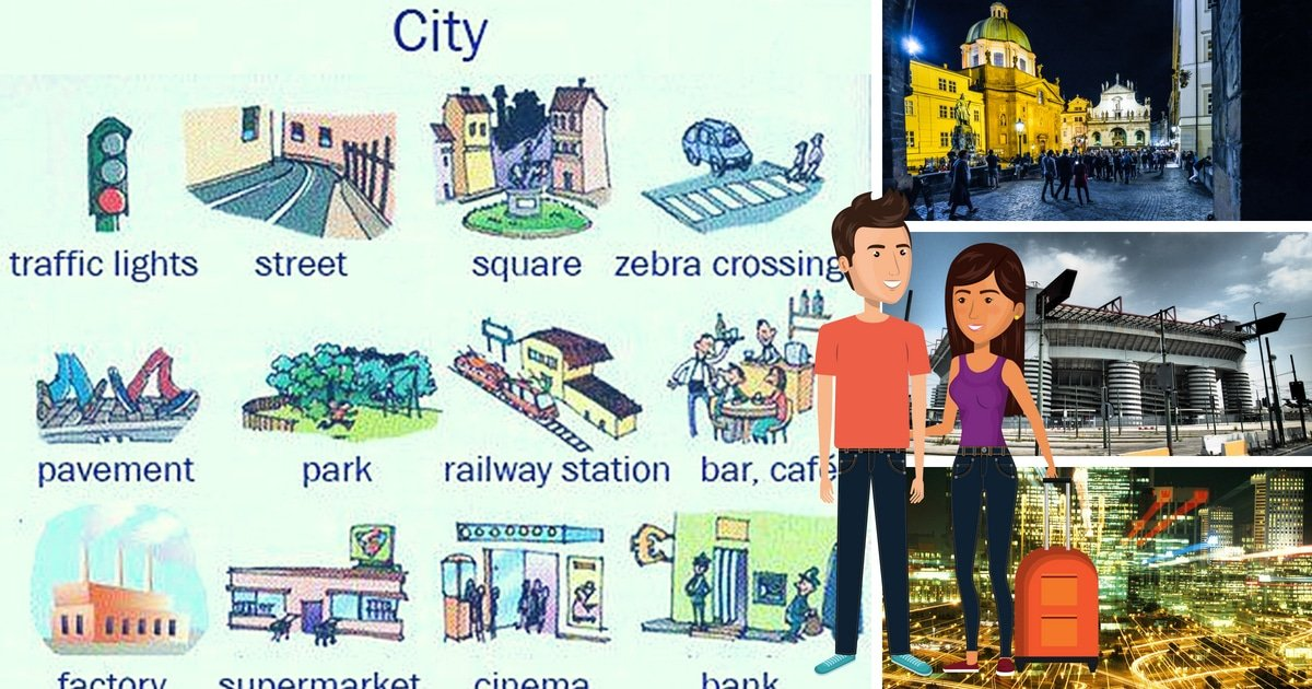 Learn English Vocabulary: Places in the City 9