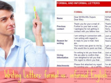 How to Write a Letter: Informal and Formal English 23