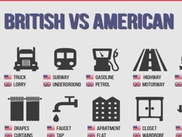 British and American English: 100+ Differences Illustrated 15