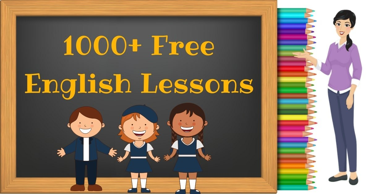 1000+ Free English Lessons with ESL Worksheets