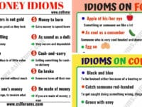 English Idioms: Learn English Idioms with Topics 23