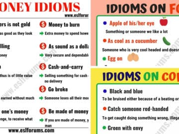 English Idioms: Learn English Idioms with Topics 19